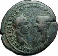 MACRINUS & DIADUMENIAN Authentic Ancient 217AD Roman Coin w NEMESIS i79024