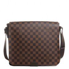 Louis Vuitton Men Damier Ebene District MM Messenger Bag NWT