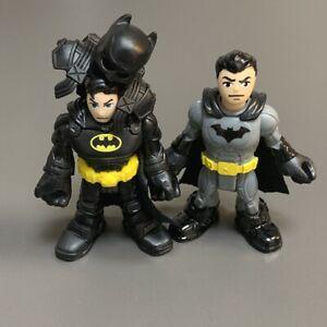 2 Bruce Wayne Imaginext DC Super Friends batman figure Fisher-Price  xmas gift
