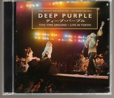 DEEP PURPLE: THIS TIME AROUND LIVE IN TOKYO 2 CD SET TOMMY BOLIN OUT OF PRINT