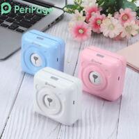 PeriPage Pocket Bluetooth4.0 Photo Sticker Label Remote Printer for Mobile Phone