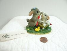 Charming Tails Wash Away Those Worries Figurine 89/111 Fitz and Floyd Boxed