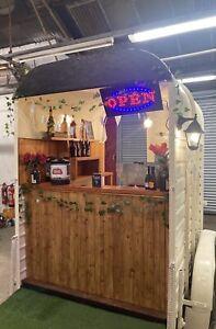 Vintage Catering Trailer/ Horse Box Conversion/ Gin Bar/Takeaway/Weddings