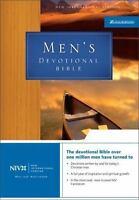 NIV Mens Devotional Bible by Zondervan , Leather Bound