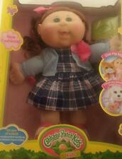 """Cabbage Patch Kids 14"""" Collectible Doll """"Modern"""" Red Hair Green Eyes Dress"""