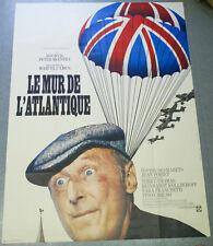 Affiche de cinéma : LE MUR DE L'ATLANTIQUE de Marcel CAMUS