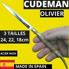 CUDEMAN COUTEAU STYLET ULTRA FIN OUVRE LETTRES ESPAGNE OLIVIER LAME INOX