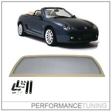 Filet Anti Remous  / Windschott / Coupe vent BEIGE - MGF MG-F MGTF 1996-2002