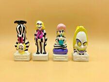 BEETLEJUICE lot of 4 toys 1989 cartoon Burger King kids meal series