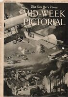 1915 NY Times Mid-Week Pictorial September 30 -Ready on the Rio Grande;Kitchener