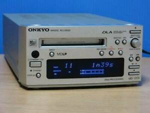 Onkyo Intec 155 Md Deck Md-101A S Silver MDLP Used