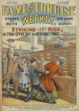 523 Fame and Fortune Weekly Dime novels on DVD