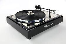 Restaurierter & Modifizierter Thorens TD 166 MKII Plattenspieler Hochglanz