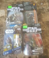vintage star wars lot 5 figures , black series anakin skywalker, R5-D4