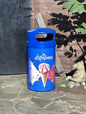 More details for nestle extreme cornetto ice creamcommercial rare waste dust bin free p&p new