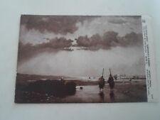 FRANCE, Prawn Fishers Franked Army Post Office 1918 Vintage Postcard   §B599