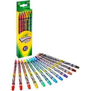"""Crayola """"Twistables"""" Coloured Pencil Set - Choose Your Size - 12 or 30 Colours"""