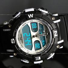 OHSEN Mens Women Digital Army Military Waterproof Sport Quartz Watch Chronograph