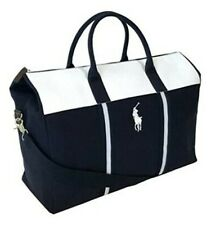 Brand New! Ralph Lauren Polo Bag's Duffle,gym,overnight,holiday White&blue Bag's