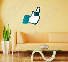"I Like Beer Social Media Facebook Funny Wall Sticker Room Interior Decor 22""X22"""