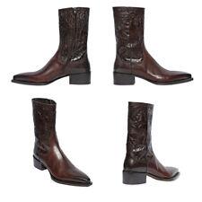 ORIGINALE DSQUARED 2 Cowboy Stivali Stivaletti Vera Pelle-TG. 43 * nuovo * ESAURITO