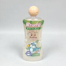 Arrurru Oatmeal Shampoo and Body Wash 2 in 1 Tear Free Hypoallergenic 13.5 oz