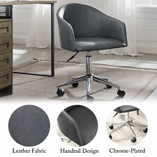 New Listingswivel Office Desk Chair Modern Pu Leather Height Adjustable Computer Desk Chair