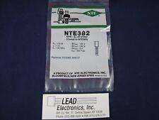 NTE NTE382 NPN Transistor TO92/PKG **AUTHORIZED DISTRIBUTOR**