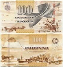 Faroe Faeroe Islands 100 Kronur 2011 (2012) UNC P-30