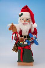 Ulbricht Santa with Toys Hand Made in Germany Christmas Nutcracker 0-463