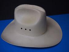 RESISTOL XX8XX Self Conforming Western Genuine Shantung Panama Hat Natural