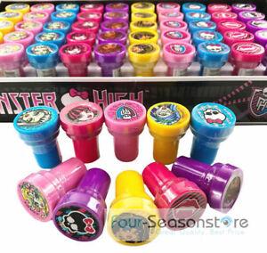 Monster High Self Ink Stamps Birthday Party Favors Gift Bag Filler Stamper