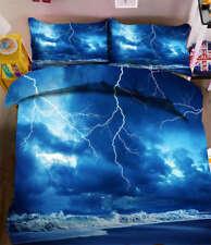 Shocked Lightning 3D Printing Duvet Quilt Doona Covers Pillow Case Bedding Sets