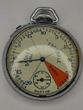 Vintage 1940s Pastor Basketball Football Referee's Stopwatch good working order