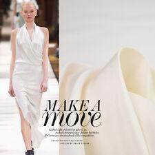 23momme Heavy Silk doupion fabrics Pure White doupioni pongee fabric