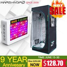 Mars 300W Led Grow Light Veg Flower Plant Indoor Hydro / 27×27×63 Grow Tent Kits