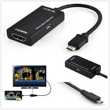 Hot HD 1080P Android Mini Micro USB 2.0 MHL to HDMI Cable For Galaxy S2 Huawei