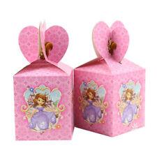 12pcs Sofia Princess Candy Box Girls Birthday Party Favor Girls Filler Supplies
