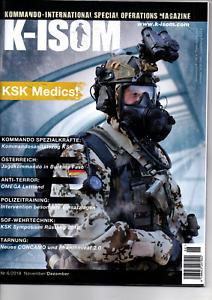 K-ISOM 6/2018 Kommando-International Special Operations Magazine KSK NEU