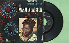 MAHALIA JACKSON / Negro Spirituals / TOP RANK DISCOPHON 27.003 Spain 1960 EP VG+