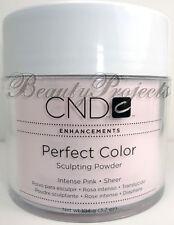 CND Enhancements Perfect Color Sculpting Powder Acrylic Intense Pink Sheer 3.7oz