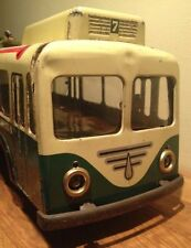 Paire de support d'ampoule pour Trolley Bus Joustra en tôle