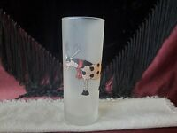 Dartington Designs France Frosted High Ball Glasses Funny Sheep & Reindeer Horse
