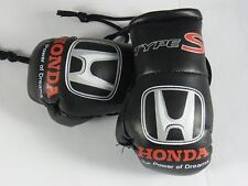 Honda Type S (Black)  Mini boxing gloves ideal for rear view mirror