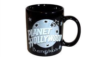 PLANET HOLLYWOOD BANGKOK COLLECTOR BLACK COFFEE MUG 1991 PHII