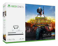 Microsoft Xbox One S 1TB White Console with Playerunknowns Battlegrounds Bundle