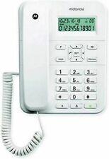 Motorola CT202 Corded Telefono Ufficio WHITE
