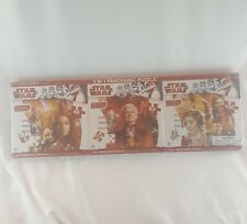 Original Trilogy Star Wars 3 in 1 Panoramic Jigsaw Puzzle 211 Pce Carrie Fisher