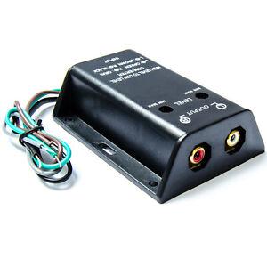 High Low Converter Lautsprecher auf Cinch Umwandler Adapter Endstufe Verstärker