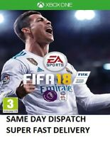 Fifa 18 Xbox One Pristine CONDITION Same Day Dispatch via Super Fast Delivery